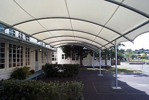 Barrel Vault Shade Structures