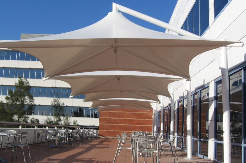 Cafe Umbrellas Outdoor Dining Umbrellas Aluminium