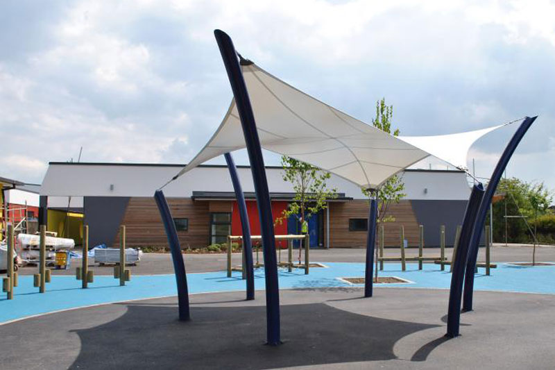 Hypar Shade Structures